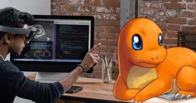 HoloLens 玩 Pokémon GO!AR眼鏡助你隔空抓捕神奇寶貝