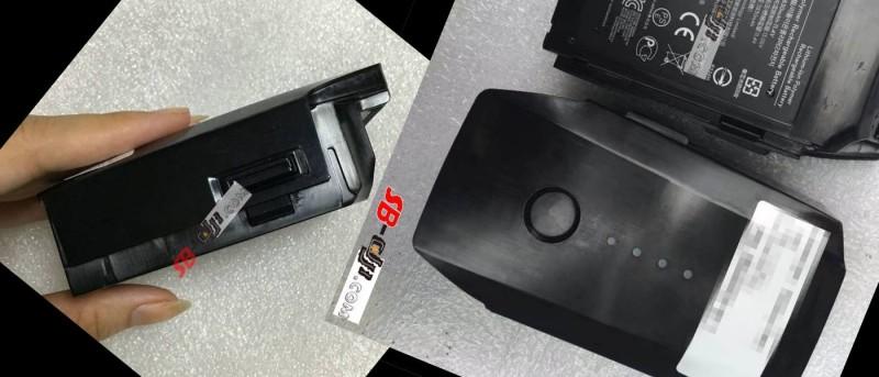 DJI 首台小型無人機電池照片流出