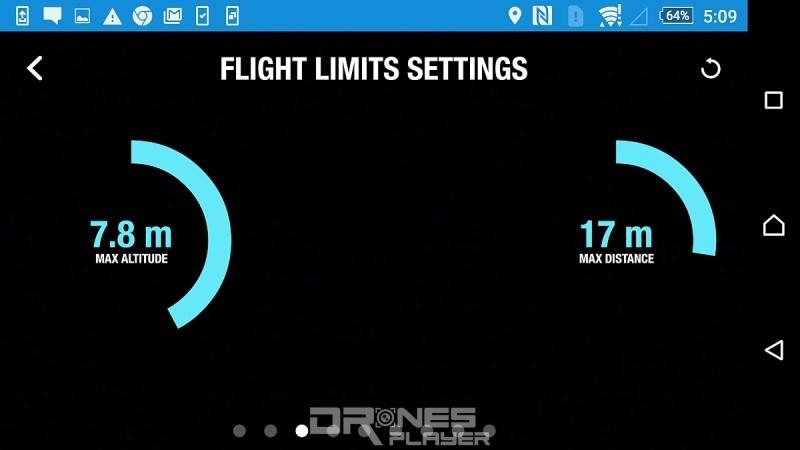 部分無人機型號容許用戶預設飛行器的最高飛行高度。