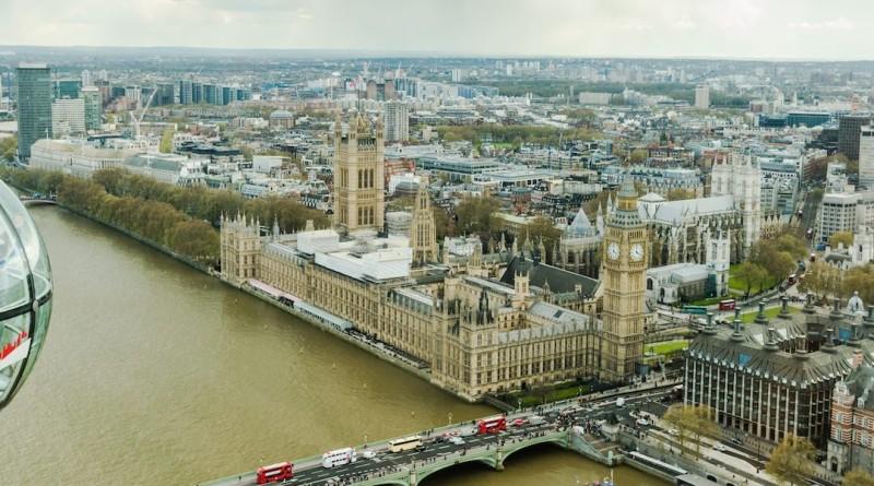 英國 倫敦 無人機