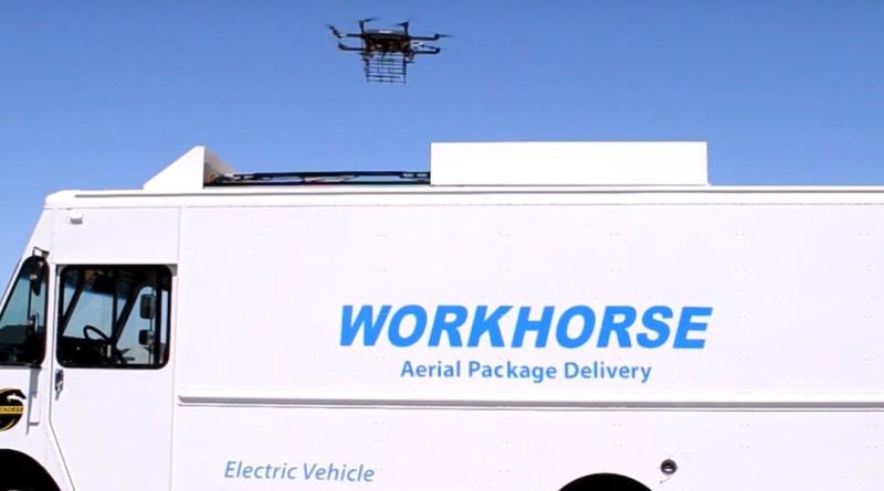 workhorse 研發送貨無人機 horsefly
