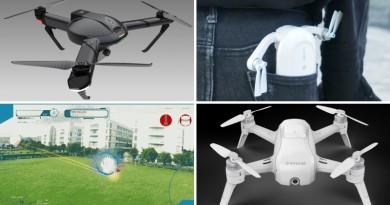 【一周熱話】7 款設計超吸睛的消費級無人機 #3 讓自拍棒落伍了!