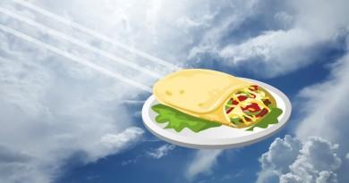 Alphabet 實試 Project Wing 無人機送貨 外送墨西哥捲餅