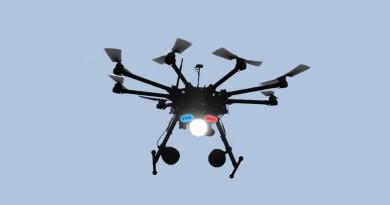 無人機變身警衛機器人 發放強光•警報聲響嚇退入侵者