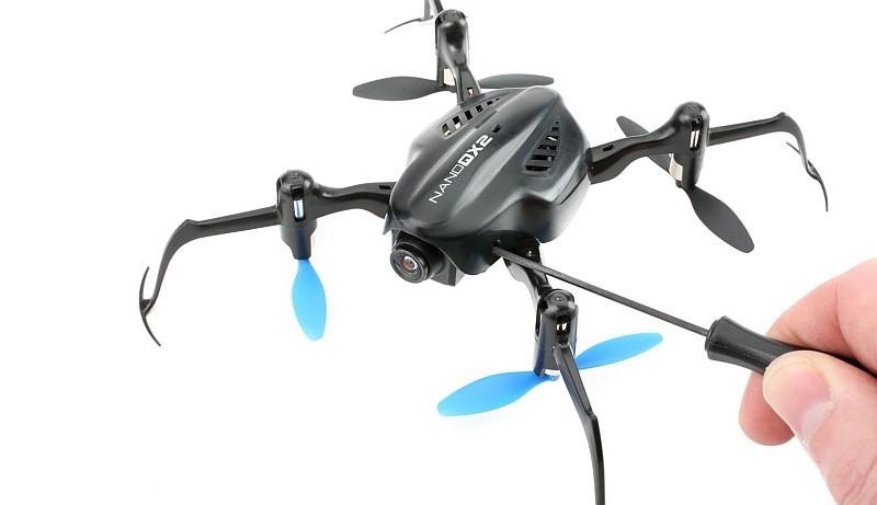 大家需要使用螺絲起子來調整 Blade Nano QX2 鏡頭視角,最大可調校 15 度。