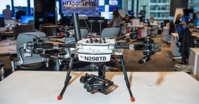 CNN Air 新聞團隊航拍採訪 無人機合法飛越人群
