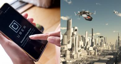 Uber 的未來構想:無人自駕空中計程車隨傳隨到