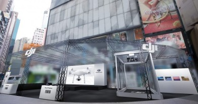 DJI 香港旗艦店開幕慶 鬥快到場爭奪航拍機 7 折優惠!