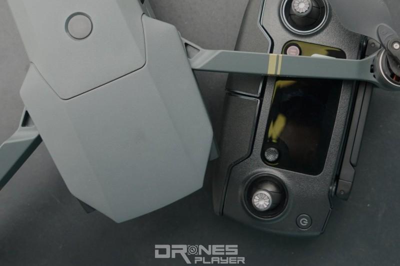 DJI Mavic Pro 飛行器與遙控器對比