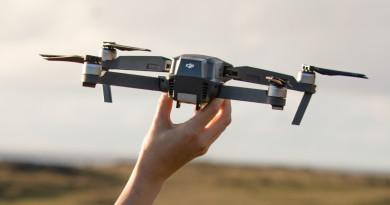 DJI Mavic Pro 無人機小巧而強大 避障•跟拍•圖傳 7 公里!