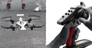 仿F1賽車無人機 Kyosho Drone Racer 遙控車控制器助低空穿越