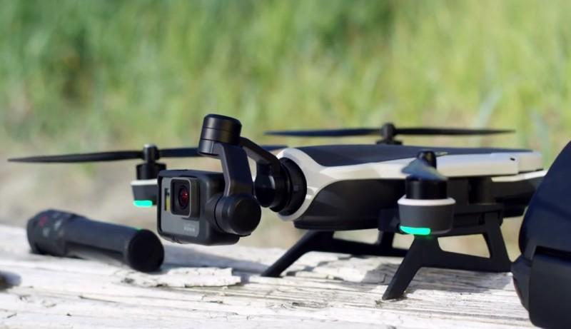GoPro Karma Stabilizer 裝配在無人機上