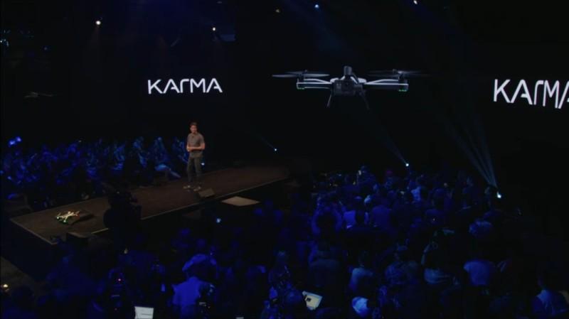 GoPro Karma 發布後