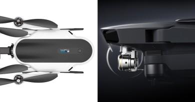 DJI Mavic Pro vs GoPro Karma 初步比較:怎樣決定買哪一台?