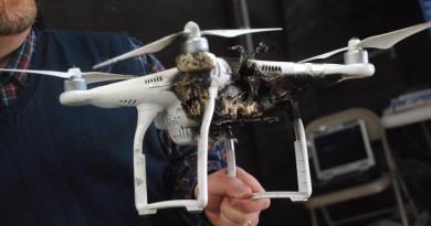 無人機自保有法 以激光反攻敵對激光