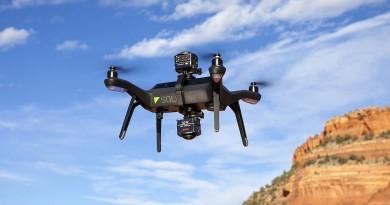 Kodak SP360 4K相機搭 3DR Solo無人機 上下合璧全景空拍