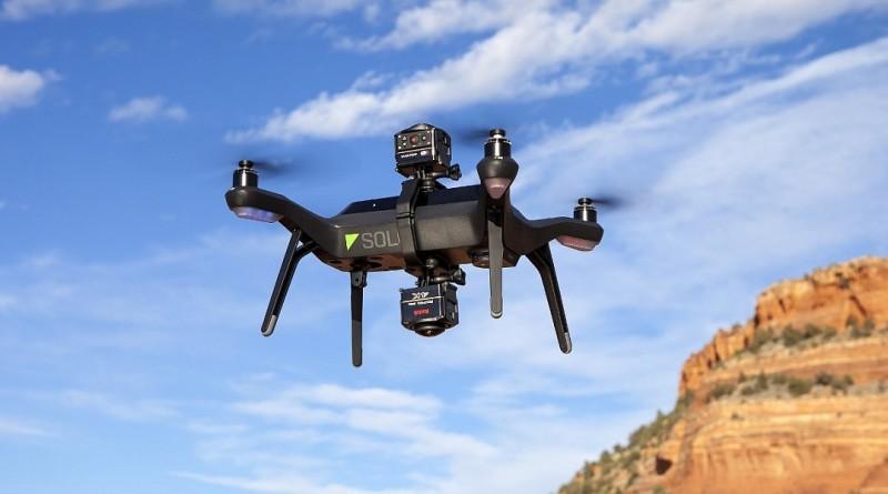 Kodak SP360 4K 搭 3DR Solo 無人機全景空拍方案