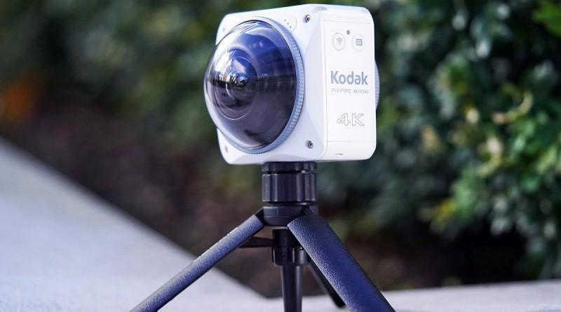 Kodak PixPro 4KVR360 機身前後雙鏡頭