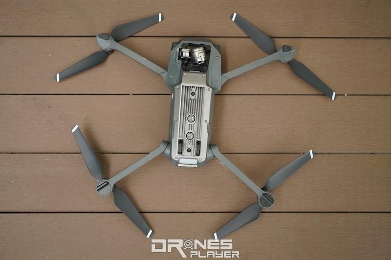 DJI Mavic Pro 軸臂折疊設計以實用為主要考量。