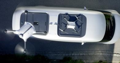 平治 Vision Van 送貨大計 無人機搭電動車全自動宅配