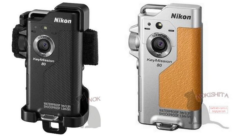 Nikon KeyMission 80 備有黑色和銀色機身可供選擇。
