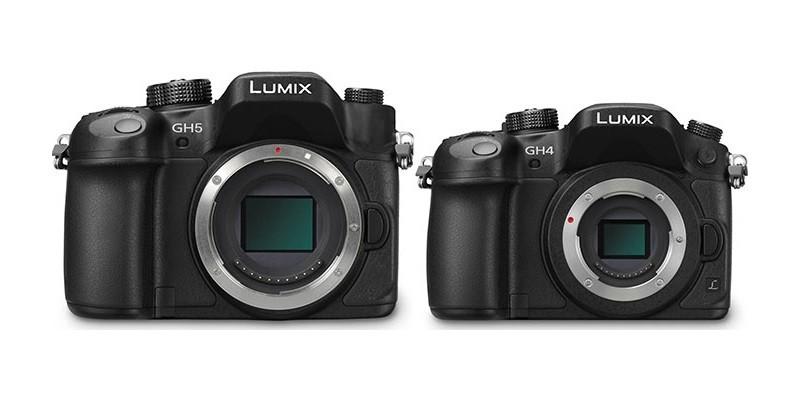Panasonic LUMIX GH5 機身應比 GH4 為大。