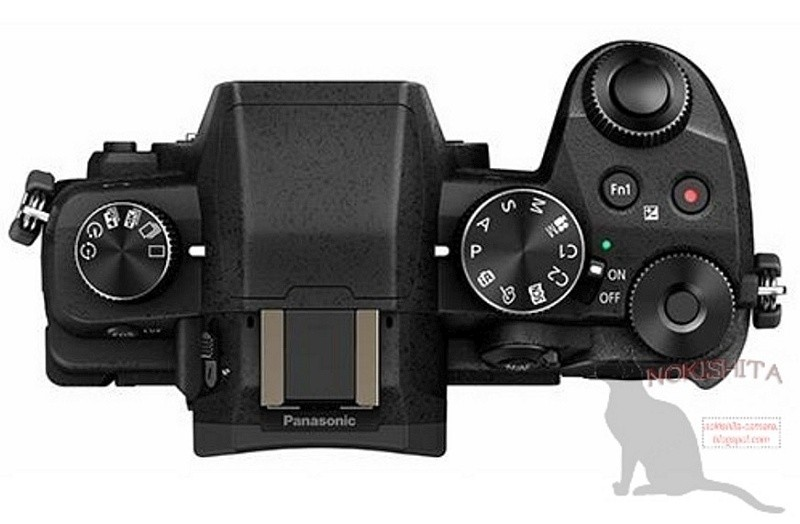Panasonic Lumix G8 的機頂介面布局