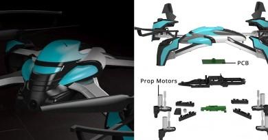 Pantonma Sensor Drone 摔機無限復活!替換模組即可重生