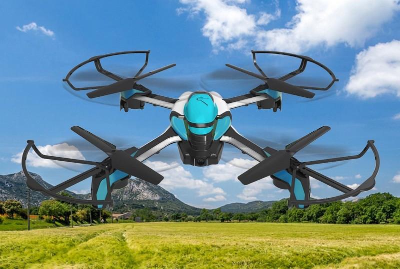 Pantonma Sensor Drone外觀設計型格,其模組化設計和避障功能,適合初接觸空拍的新手使用。