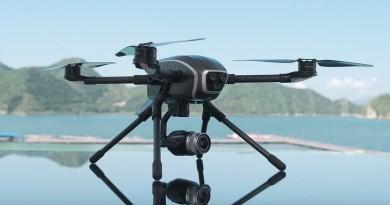 PowerEye 雙鏡頭無人機實現完美雙遙控 航拍•FPV畫面分流圖傳