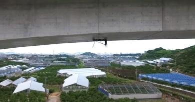 Prodrone 變種版 6 旋翼無人機 仿如壁虎游牆檢查橋樑結構