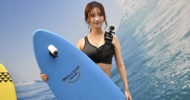 全球最小手持雲台相機!Zerotech Rollcap 三軸防震•機身防水