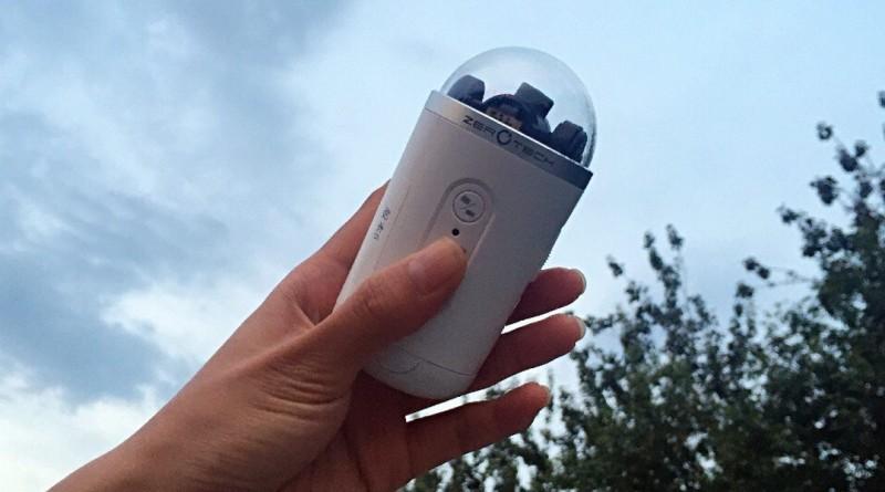 Zerotech 手持雲台運動相機預告