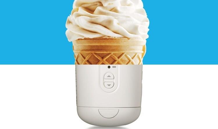 Zerotech 手持雲台運動相機預告:雪糕筒