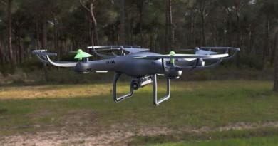 手持拋飛夠瀟灑!Archos Drone 空拍機強勢飛入 IFA 2016