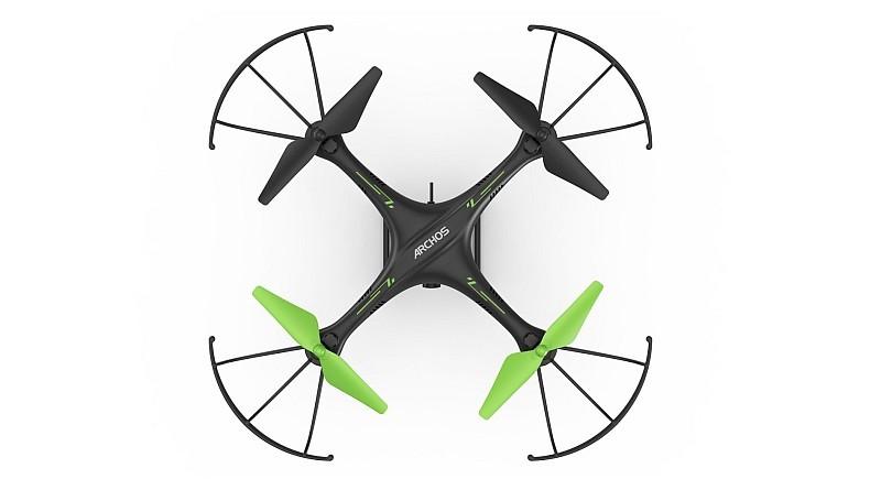 Archos Drone 採用 X 形四軸結構,機身大小為 360 x 360 毫米。