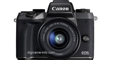 Canon EOS M5 真機諜照曝光   雙像素 CMOS 技術引入對焦更快