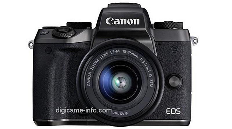 Canon EOS M5 真機諜照曝光