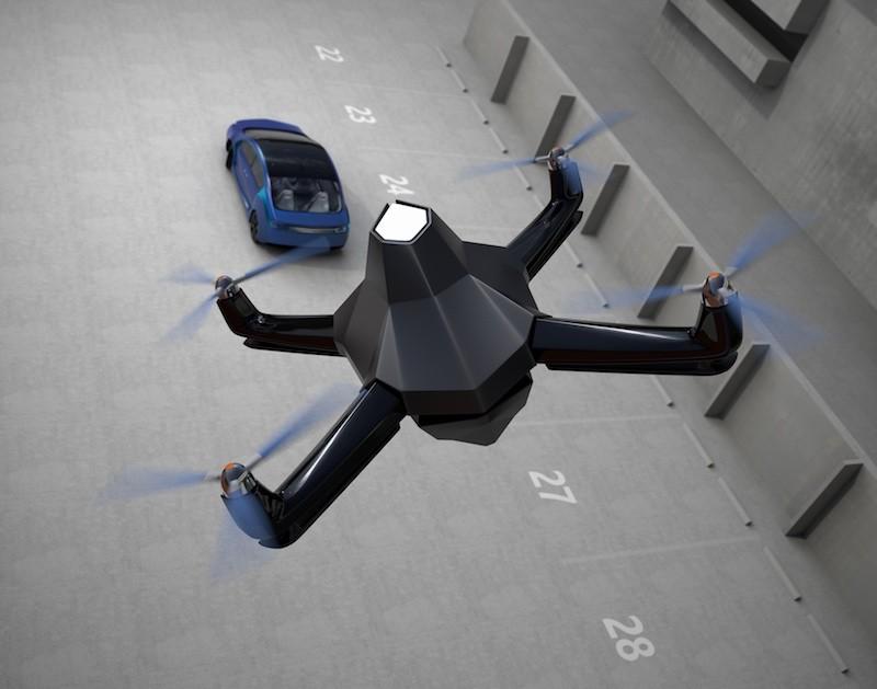 無人機裝置 Neurala 後,能獲得辨識和追蹤物體的能力。