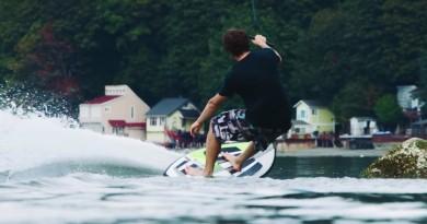 滑浪不需用船拉,找一架無人機來無風起浪!