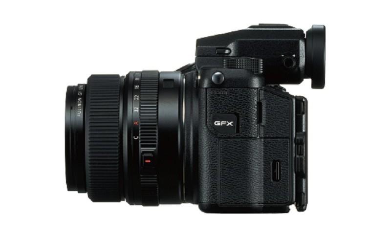 Fujifilm GFX 50S 機身左側
