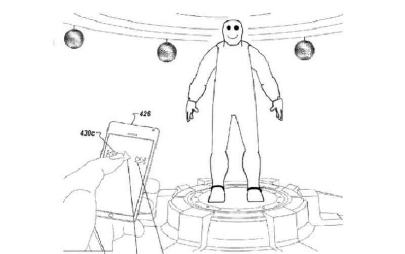 專利文件揭露,Google VR 眼鏡的畫面會出現可跟用戶進行互動的虛擬人物。