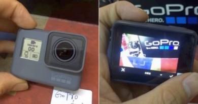 GoPro Hero 5 真機諜照再流出!機身前後雙屏•電池容量微升