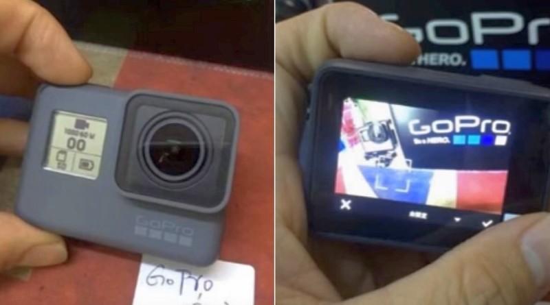 GoPro Hero 5 真機諜照再流出 機身前後雙屏