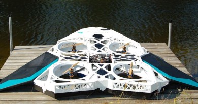 3D 列印醫療無人機 KAYRYS 20 日製多軸定翼兼備