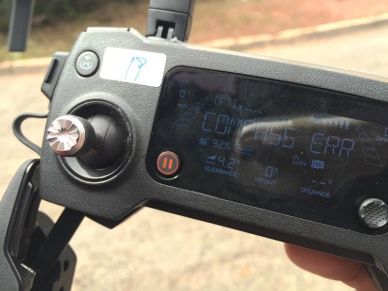 流出 DJI Mavic 照片:遙控器