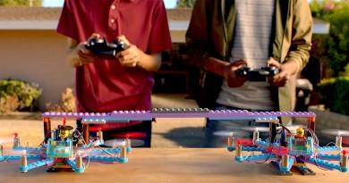 樂高積木無人機誕生!Flybrix 讓你用 LEGO 自組多軸飛行器