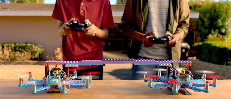 lego-drone6 樂高積木 無人機