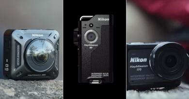 Nikon KeyMission 三強 10 月上市 正面硬撼 GoPro Hero 5