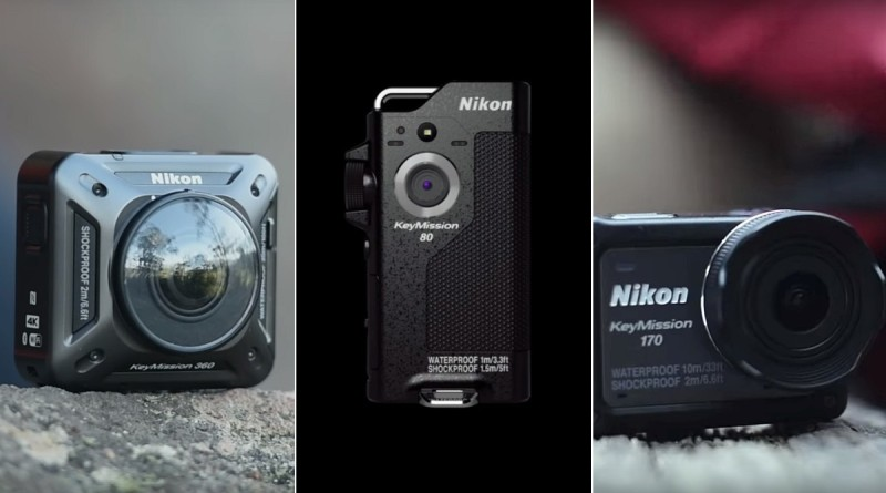 Nikon KeyMission 三強 10 月上市